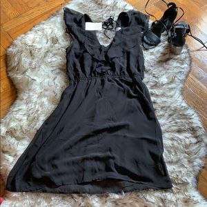 NWT H&M short black dress